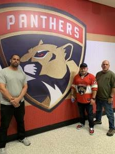 Gustavo attended Florida Panthers vs. Washington Capitals - NHL on Nov 7th 2019 via VetTix