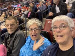 Sandra attended Florida Panthers vs. Washington Capitals - NHL on Nov 7th 2019 via VetTix