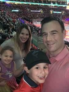 David attended Florida Panthers vs. Washington Capitals - NHL on Nov 7th 2019 via VetTix