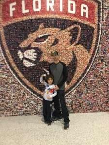 Daniel attended Florida Panthers vs. Washington Capitals - NHL on Nov 7th 2019 via VetTix