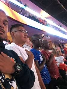 Alberto attended Florida Panthers vs. Washington Capitals - NHL on Nov 7th 2019 via VetTix