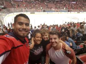 Catrina attended Florida Panthers vs. Washington Capitals - NHL on Nov 7th 2019 via VetTix