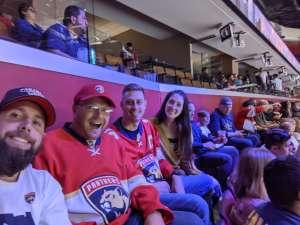 Andrew attended Florida Panthers vs. Washington Capitals - NHL on Nov 7th 2019 via VetTix