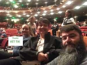 Christopher  attended Colorado Ballet Performs the Nutcracker - Thursday on Dec 19th 2019 via VetTix