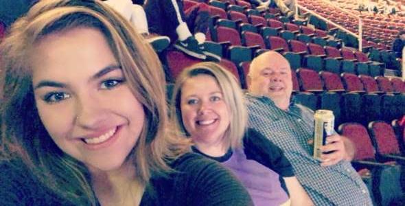 Brittany attended Arizona Coyotes vs. Columbus Blue Jackets - NHL on Nov 7th 2019 via VetTix