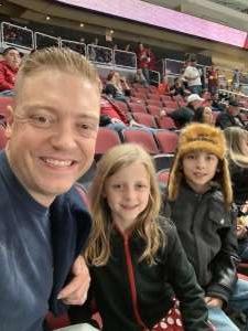 KELLEN attended Arizona Coyotes vs. Columbus Blue Jackets - NHL on Nov 7th 2019 via VetTix