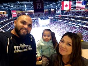 Thomas attended Arizona Coyotes vs. Columbus Blue Jackets - NHL on Nov 7th 2019 via VetTix