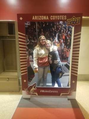 FamBam7 attended Arizona Coyotes vs. Columbus Blue Jackets - NHL on Nov 7th 2019 via VetTix