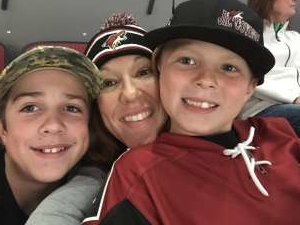 Shellie attended Arizona Coyotes vs. Columbus Blue Jackets - NHL on Nov 7th 2019 via VetTix