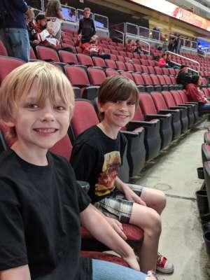 Steven attended Arizona Coyotes vs. Columbus Blue Jackets - NHL on Nov 7th 2019 via VetTix