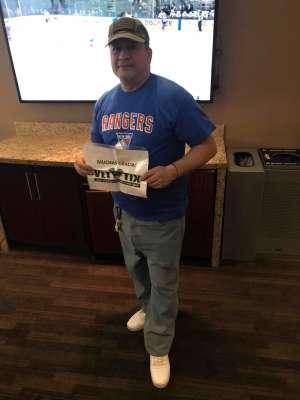 Raymond  attended New York Rangers vs. Pittsburgh Penguins - NHL Veteran's Night ** Suite Tickets ** on Nov 12th 2019 via VetTix