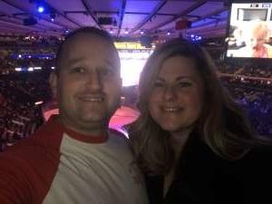 Jacob attended New York Rangers vs. Pittsburgh Penguins - NHL Veteran's Night ** Suite Tickets ** on Nov 12th 2019 via VetTix