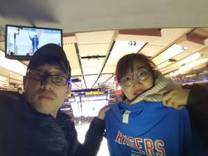 sung woong attended New York Rangers vs. Pittsburgh Penguins - NHL Veteran's Night ** Suite Tickets ** on Nov 12th 2019 via VetTix