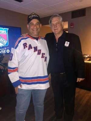 Nick Tsismenakis attended New York Rangers vs. Pittsburgh Penguins - NHL Veteran's Night ** Suite Tickets ** on Nov 12th 2019 via VetTix