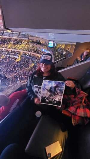 Katty attended New York Rangers vs. Pittsburgh Penguins - NHL Veteran's Night ** Suite Tickets ** on Nov 12th 2019 via VetTix