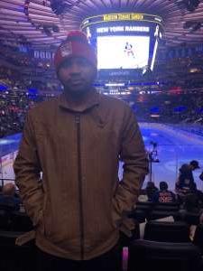 Kevin attended New York Rangers vs. Pittsburgh Penguins - NHL Veteran's Night ** Suite Tickets ** on Nov 12th 2019 via VetTix