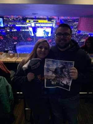 Matthew attended New York Rangers vs. Pittsburgh Penguins - NHL Veteran's Night ** Suite Tickets ** on Nov 12th 2019 via VetTix