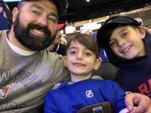 Nick attended New York Rangers vs. Pittsburgh Penguins - NHL Veteran's Night ** Suite Tickets ** on Nov 12th 2019 via VetTix