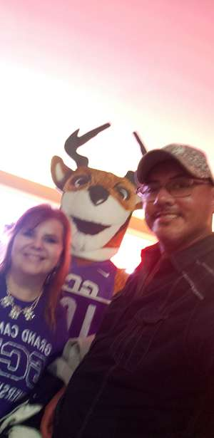 Manuel attended Grand Canyon University Lopes vs. Northern Iowa Panthers - NCAA Men's Basketball - **1st Responders' Night** on Dec 12th 2019 via VetTix