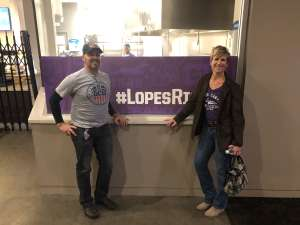 Richard attended Grand Canyon University Lopes vs. Northern Iowa Panthers - NCAA Men's Basketball - **1st Responders' Night** on Dec 12th 2019 via VetTix