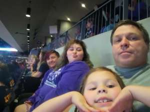 mark attended Grand Canyon University Lopes vs. Northern Iowa Panthers - NCAA Men's Basketball - **1st Responders' Night** on Dec 12th 2019 via VetTix