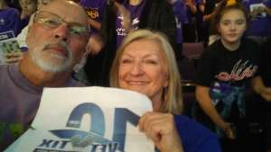 david attended Grand Canyon University Lopes vs. Northern Iowa Panthers - NCAA Men's Basketball - **1st Responders' Night** on Dec 12th 2019 via VetTix