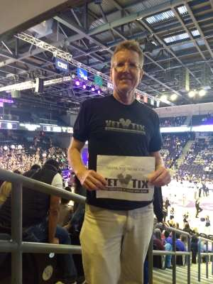 Scott attended Grand Canyon University Lopes vs. Northern Iowa Panthers - NCAA Men's Basketball - **1st Responders' Night** on Dec 12th 2019 via VetTix