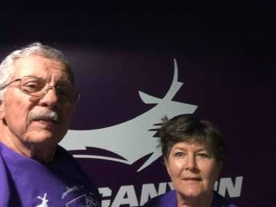 William attended Grand Canyon University Lopes vs. Northern Iowa Panthers - NCAA Men's Basketball - **1st Responders' Night** on Dec 12th 2019 via VetTix