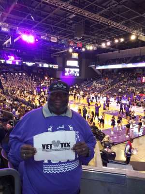 John Graves attended Grand Canyon University Lopes vs. Northern Iowa Panthers - NCAA Men's Basketball - **1st Responders' Night** on Dec 12th 2019 via VetTix