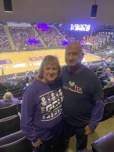 Larry attended Grand Canyon University Lopes vs. Northern Iowa Panthers - NCAA Men's Basketball - **1st Responders' Night** on Dec 12th 2019 via VetTix