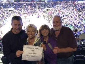 Lynn Erickson  attended Grand Canyon University Lopes vs. Northern Iowa Panthers - NCAA Men's Basketball - **1st Responders' Night** on Dec 12th 2019 via VetTix