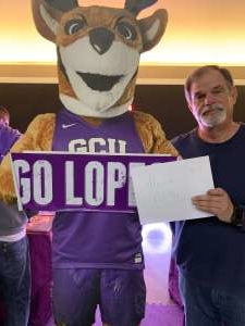 Sidney attended Grand Canyon University Lopes vs. Northern Iowa Panthers - NCAA Men's Basketball - **1st Responders' Night** on Dec 12th 2019 via VetTix