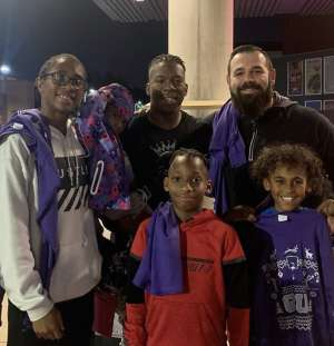 Chad attended Grand Canyon University Lopes vs. Northern Iowa Panthers - NCAA Men's Basketball - **1st Responders' Night** on Dec 12th 2019 via VetTix