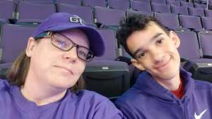 Kim attended Grand Canyon University Lopes vs. Northern Iowa Panthers - NCAA Men's Basketball - **1st Responders' Night** on Dec 12th 2019 via VetTix