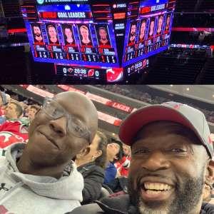 Douglas attended New Jersey Devils vs. Minnesota Wild - NHL on Nov 26th 2019 via VetTix