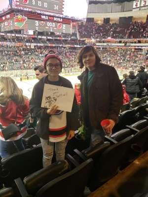 roy attended New Jersey Devils vs. Minnesota Wild - NHL on Nov 26th 2019 via VetTix