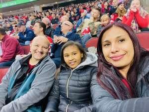 Manuel attended New Jersey Devils vs. Minnesota Wild - NHL on Nov 26th 2019 via VetTix
