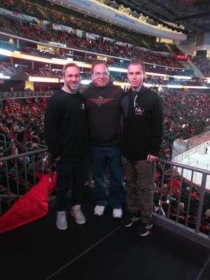 Jeff attended New Jersey Devils vs. Minnesota Wild - NHL on Nov 26th 2019 via VetTix