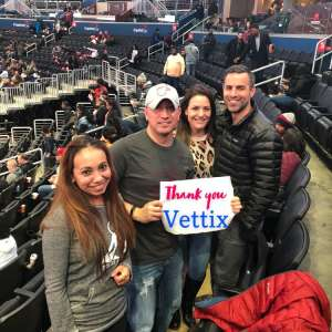 Alex attended Washington Wizards vs. Cleveland Cavaliers - NBA on Nov 8th 2019 via VetTix