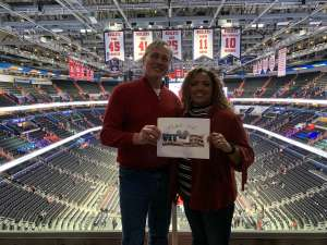 Lawrence attended Washington Wizards vs. Cleveland Cavaliers - NBA on Nov 8th 2019 via VetTix