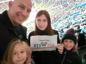Joseph attended Washington Wizards vs. Cleveland Cavaliers - NBA on Nov 8th 2019 via VetTix