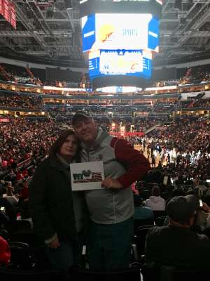 Jeffrey attended Washington Wizards vs. Cleveland Cavaliers - NBA on Nov 8th 2019 via VetTix