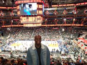 Floyd attended Washington Wizards vs. Cleveland Cavaliers - NBA on Nov 8th 2019 via VetTix