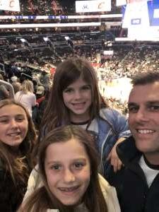 Justin attended Washington Wizards vs. Cleveland Cavaliers - NBA on Nov 8th 2019 via VetTix