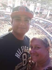 Jonas attended Washington Wizards vs. Cleveland Cavaliers - NBA on Nov 8th 2019 via VetTix