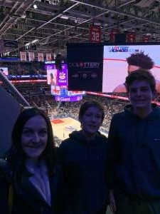 Edward attended Washington Wizards vs. Cleveland Cavaliers - NBA on Nov 8th 2019 via VetTix