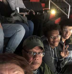 Sylvia attended Washington Wizards vs. Cleveland Cavaliers - NBA on Nov 8th 2019 via VetTix