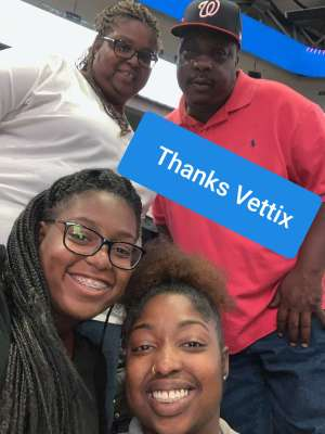 James attended Washington Wizards vs. Cleveland Cavaliers - NBA on Nov 8th 2019 via VetTix