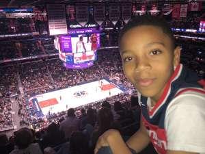 Kevin attended Washington Wizards vs. Cleveland Cavaliers - NBA on Nov 8th 2019 via VetTix