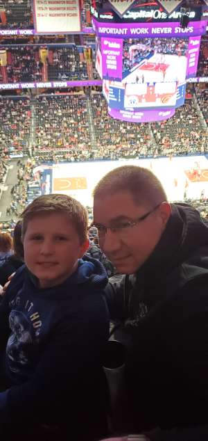 Christopher attended Washington Wizards vs. Cleveland Cavaliers - NBA on Nov 8th 2019 via VetTix